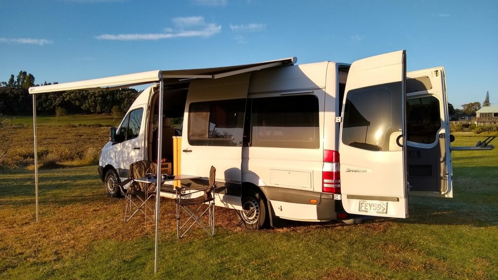 Fay | 2009 Mercedes Sprinter - Your Kind of Camper - New Zealand