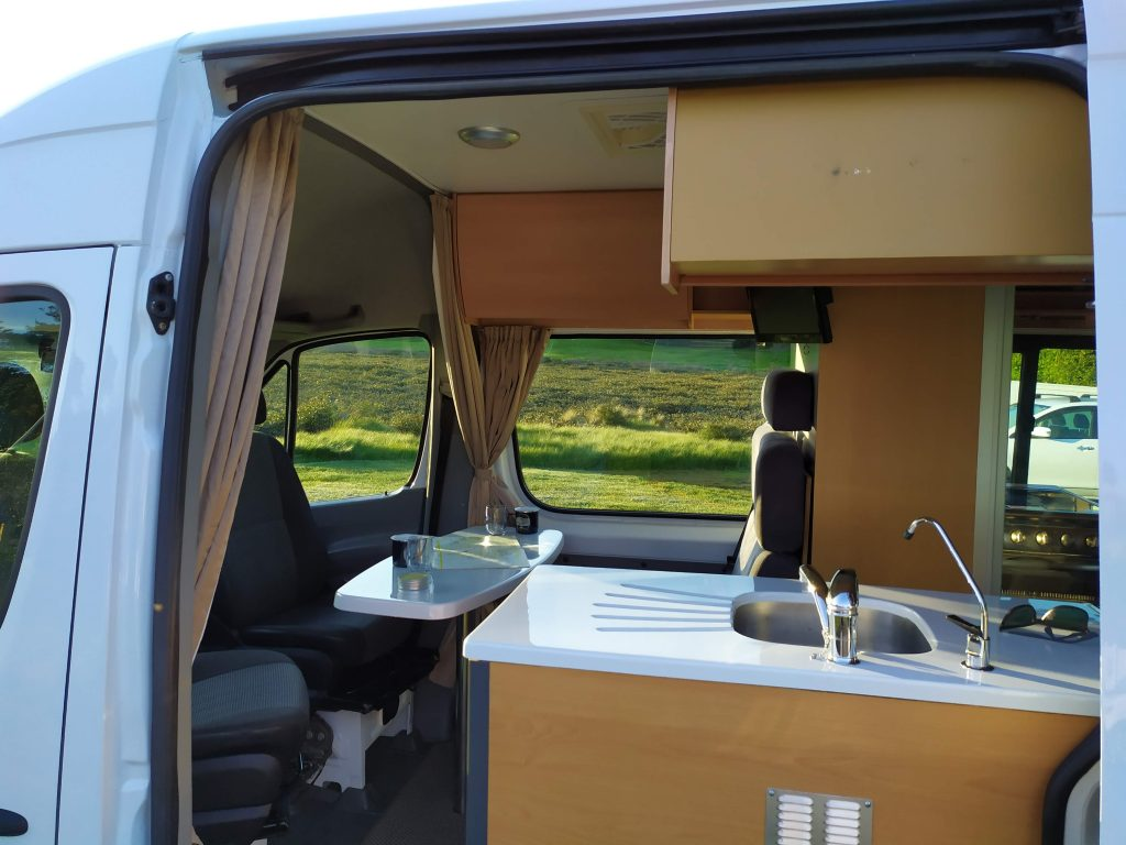 Gina | 2011 Mercedes Sprinter - Your Kind of Camper - New Zealand