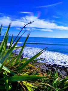 Manu Bay, Raglan. Perfect for an easy weekend campervan adventure